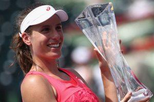 Johanna Konta beats Caroline Wozniacki to win Miami Open