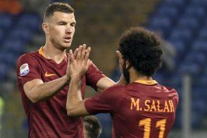 Serie A: Record-breaker Edin Dzeko helps Roma beat Empoli 2-0
