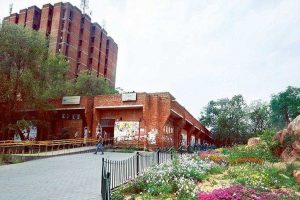 JNU Students Union at cyber cell against misleading tweets