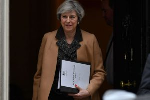 Theresa May survives first major test in UK Parliament