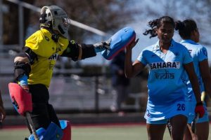 Fourth defeat in a row for Indian women hockey team