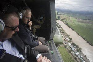 Australian PM praises community response to cyclone Debbie