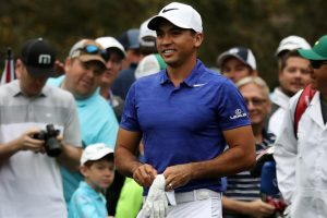 Augusta Masters: Jason Day brightens even as storm hits practice