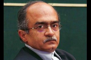 BJP youth wing leader tweets he set Rohingya camp on fire in Delhi, Prashant Bhushan files complaint