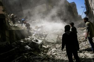 Syria bombings: 28 civilians killed in Armanaz