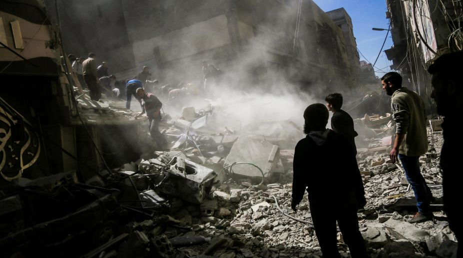 Syrian military base, missile attack, Syrian government, Israel
