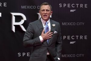 Daniel Craig wanted to 'make history' with James Bond