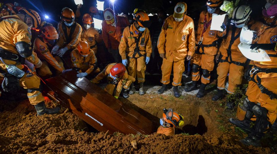 Torrential California mudslide takes lives of elderly, young