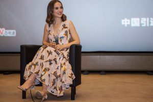 Natalie Portman steps out with baby Amalia for the first time