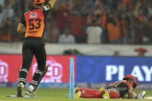 IPL 2017 : Shane Watson calls Kedar Jadhav's run out 'the turning point'