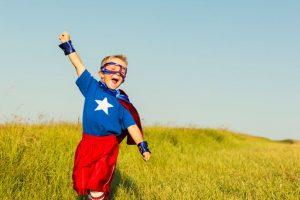 Ever wondered why babies love superheroes?