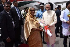 PM keeps police in the dark about airport visit to receive Hasina