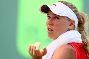 Wozniacki upset by Bertens; Halep keeps No.1 spot