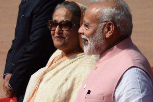 PM Modi, Sheikh Hasina launch India-Bangladesh rail, bus services