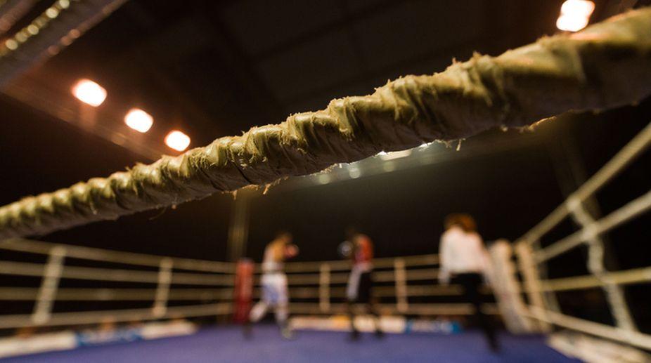 seema punia, Boxing