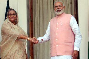 India, Bangladesh ink 22 accords;  Modi assures on Teesta