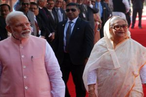 India boosts defence links with Bangladesh, extends $5 bn credit lines