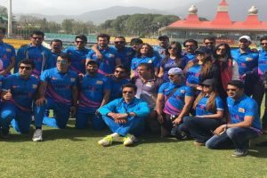 Bollywood celebrities defeat MPs in T20 cricket match