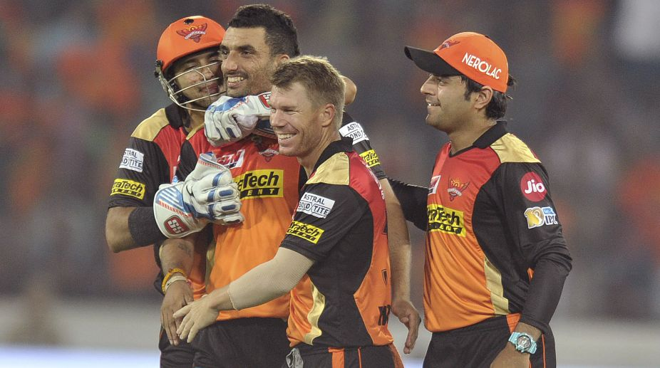 IPL 2017: Unchanged Sunrisers Hyderabad opt to field vs Gujarat Lions