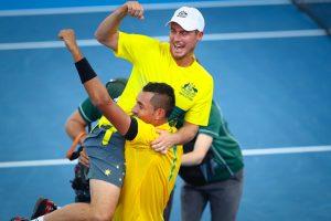 Davis Cup: Australia edge US after Nick Kyrgios heroics
