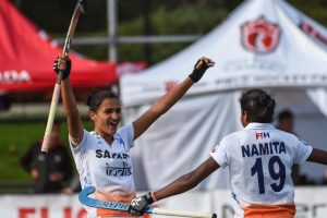 India beat Chile to win Women's Hockey World League Round 2