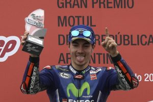 MotoGP: Maverick Vinales lifts Argentina title