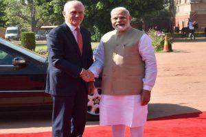 Modi, Turnbull inaugurate TERI-Deakin Nanobiotechnology Centre