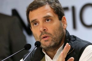 BJP jibes at Rahul for flaying GST from Italy