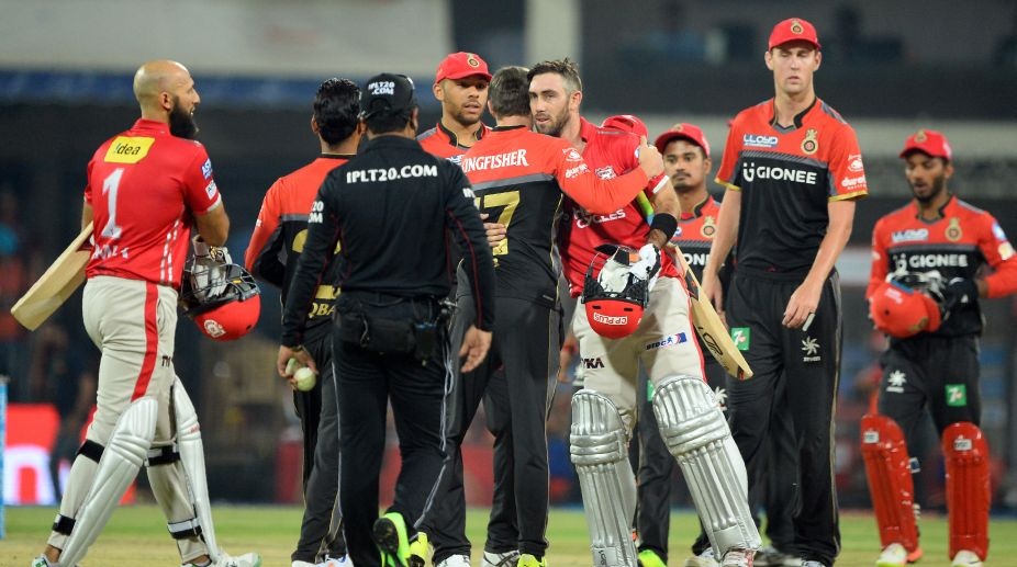 IPL 2017: De Villiers' inspiring knock goes in vain as RCB lose low-scoring clash
