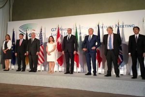 G7 backs political, not military solution to Syrian conflict: Italy