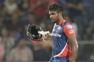 IPL 2017: Sanju Samson's maiden ton lifts Delhi Daredevils to 205/4