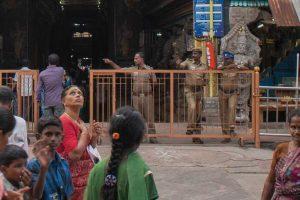 Cop slaps woman during anti-liquor protest in Tamil Nadu
