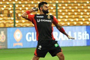 IPL 2017: Virat Kohli undergoes fielding drills in RCB practice session