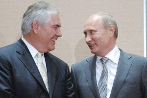 Putin meets Tillerson amid Syria turmoil