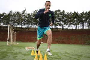 Chapecoense crash survivor Helio Neto resumes training