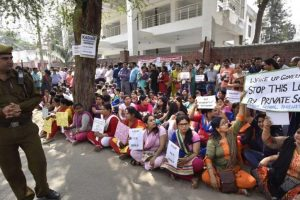 Ghaziabad parents protest against private schools' fee hike
