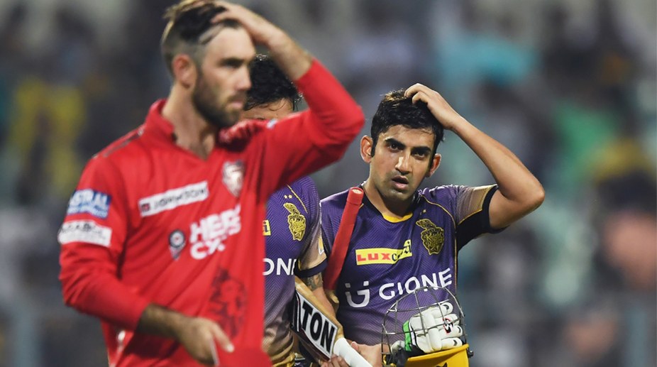 KKR's opening partnership took the game away from us: Glenn Maxwell