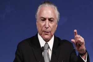 Brazilian President Michel Temer denies corruption charges