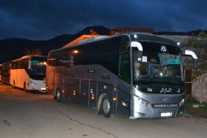7,350 people start evacuating 4 Syrian towns
