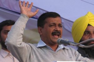 Election Commission helping BJP win polls, alleges Kejriwal