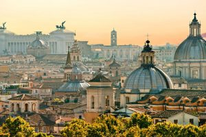 Rome on Easter security lockdown