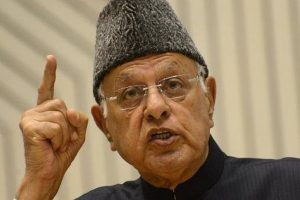 'Azaadi' for Kashmir not a remedy for unrest: Farooq Abdullah