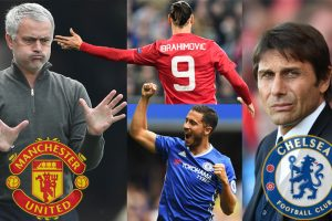 EPL preview: Mourinho's Manchester United to stymie Conte's Chelsea?