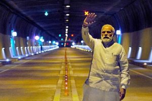 New Kashmir tunnel: Commuters complain of high pollution, poor visibility