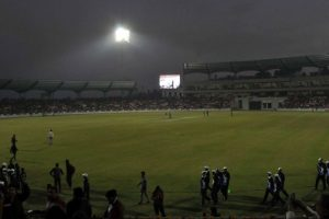 Tight security at Bengaluru stadium after bomb scare