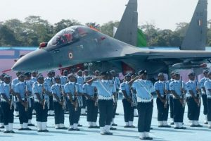Award of President's Standard to IAF's 51 Squadron and Colours 230 Signal Unit