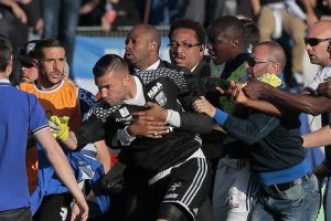 Ligue 1: Bastia-Lyon tie abandoned after home fans attack away team