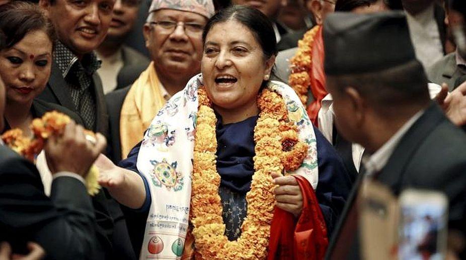 International conference, climate change, Nepal, Bidya Devi Bhandari