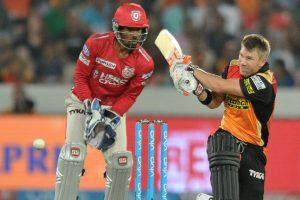 IPL 2017: David Warner's 70 drives Hyderabad to 159/6 against Punjab