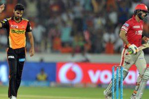 IPL 2017: Bhuvneshwar claims 5-for as Sunrisers Hyderabad beat Kings XI Punjab